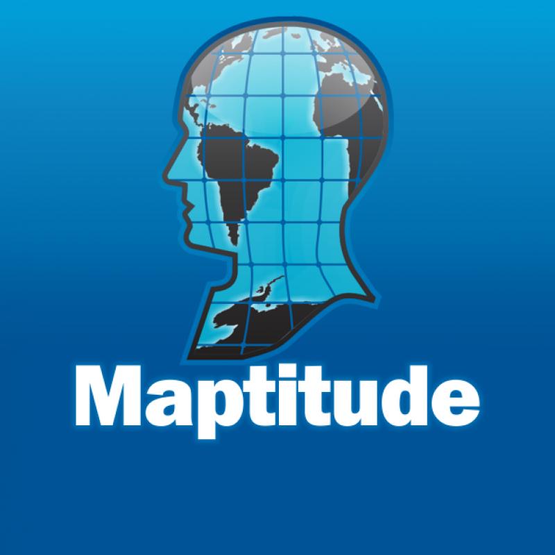 Maptitude logo