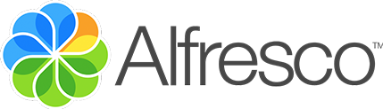 Alfresco Content Services from Hyland logo
